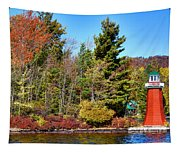 Shoul Point Lighthouse - Old Forge Tapestry