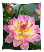 Showered Beauty Tapestry