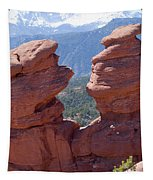 Siamese Twins And Pikes Peak Tapestry