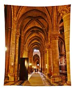 Side Hall Notre Dame Cathedral - Paris Tapestry