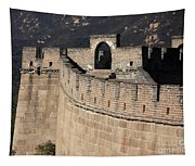 Side View Of The Great Wall Tapestry