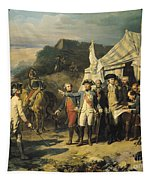 Siege Of Yorktown Tapestry