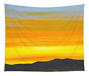 Sierra Foothills Sunrise Tapestry