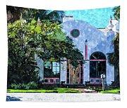 Siesta Key Beach Cottage Tapestry