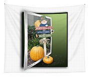 Signs Of Halloween Tapestry