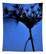 Silhouette Blue Tapestry