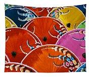 Silk Umbrella Factory Tapestry