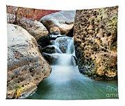 Silky Waters Of Jemez Springs Tapestry