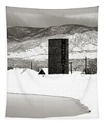 Silo And Silence Tapestry