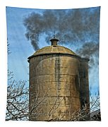 Silo Fire Venting Tapestry