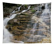Silver Cascades - Crawford Notch New Hampshire Tapestry