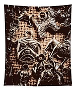 Silver Dog Show Tapestry
