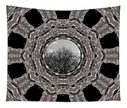 Silver Idyl Tapestry
