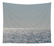 Silver Light On Lake Michigan Tapestry