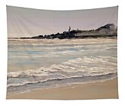 Silver Surf Tapestry