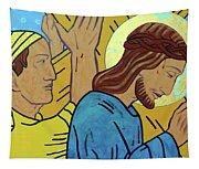 Simon Helps Jesus Tapestry