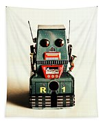 Simple Robot From 1960 Tapestry