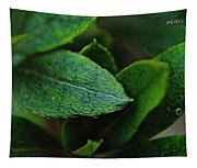 Simply Green Tapestry