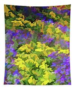 Simply Soft Colorful Garden Tapestry