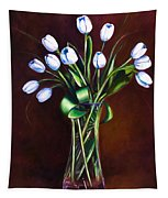 Simply Tulips Tapestry