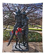 Simpson And His Donkey - Canberra - Australia Tapestry