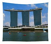 Singapore Ship Top Tapestry
