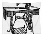 Singer Sewing Machine Tapestry