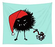 Singing And Dancing Evil Christmas Bug Tapestry