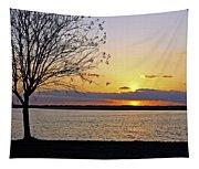 Sinking Sun Tapestry