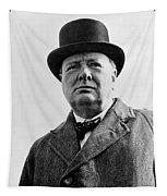 Sir Winston Churchill Tapestry