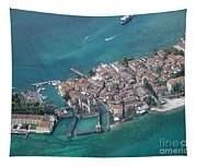 Sirmione's Castle Tapestry