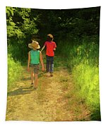 Sister And Brother Tapestry