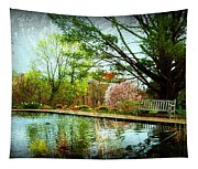 Sit And Ponder - Deep Cut Gardens Tapestry