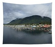 Sitka Alaska From The John O'connell Bridge Is A Cable-stayed Bridge 2015 Tapestry