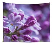 Six Petals Double Happiness Tapestry