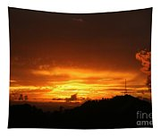Sizzling Sunset Tapestry