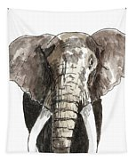 Sketch Elephant Tapestry