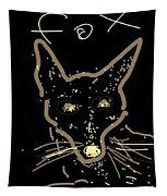 Sketch Of Fox By Kathy Barney Tapestry