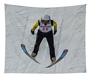 Ski Jumper 3 Tapestry