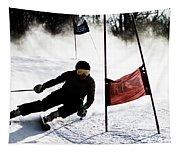 Ski Racer 2 Tapestry