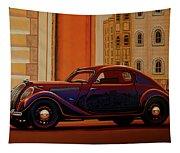 Skoda Popular Sport Monte Carlo 1935 Painting Tapestry