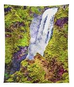 Skogafoss Waterfall #10 Tapestry