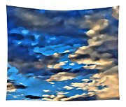 Sky And Clouds Tapestry
