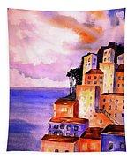 Sky At Dusk  Tapestry