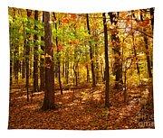 Skyline Drive At Low Gap Shenandoah National Park Tapestry