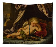 Sleeping Cupid Tapestry