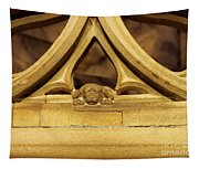 Sleeping Dog In Strasbourg Cathedral Tapestry