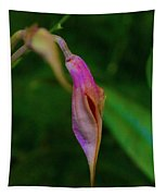Sleeping Dragons Head Orchid Tapestry