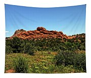Sleeping Giant At The Garden Of The Gods Tapestry
