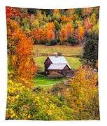 Sleepy Hollow Farm In Fall Tapestry